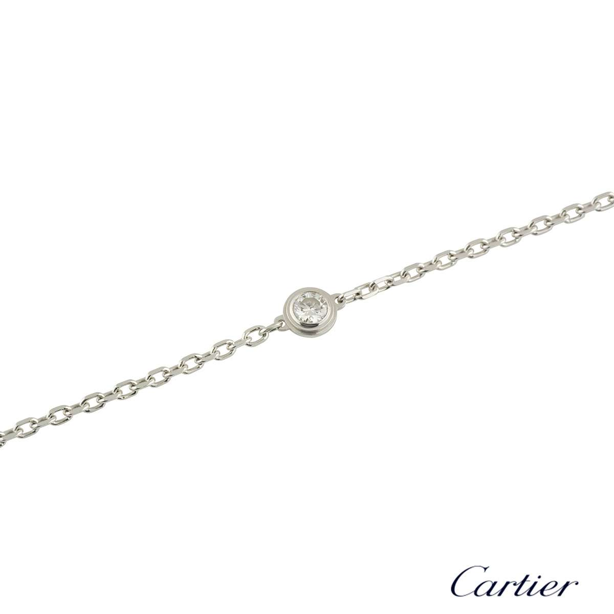 Cartier Diamants Legers Diamond Bracelet B6037200